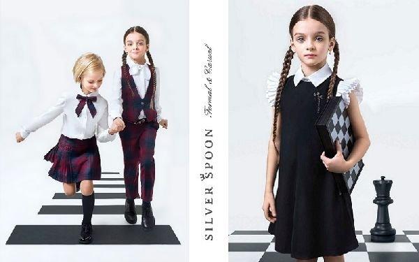 Картинки по запросу брендовая модная Silver Spoon детская одежда