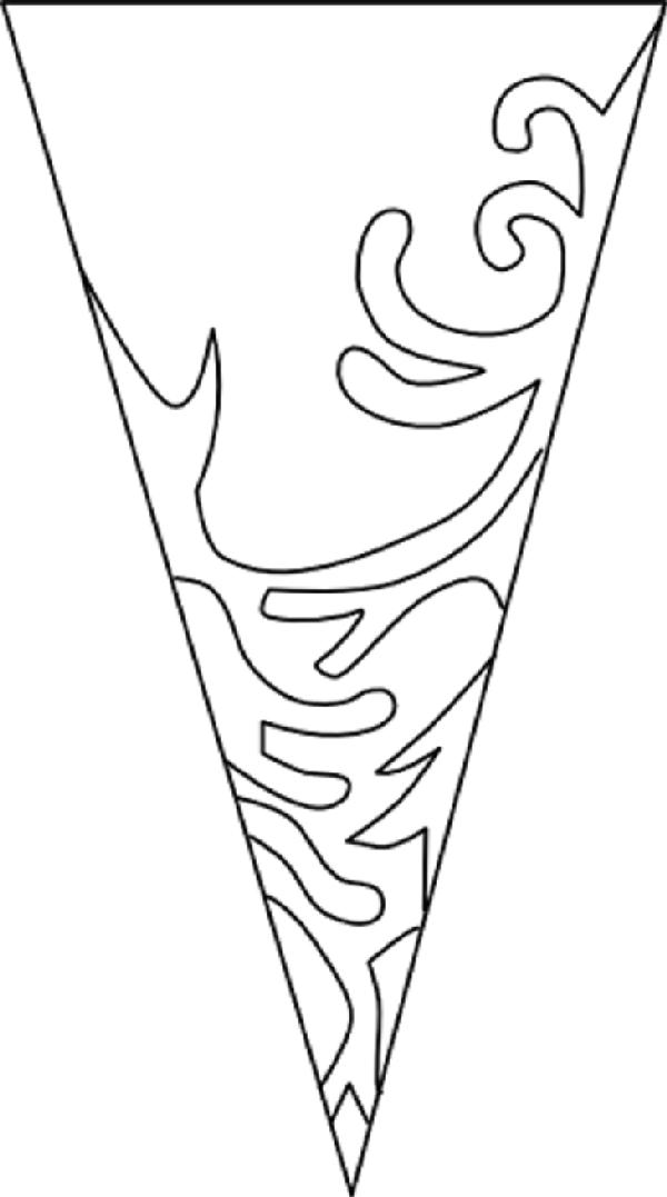 Выкройка блузки с цельнокроеным рукавом: построение выкройки