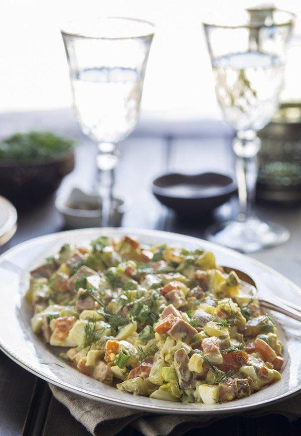 оливье рецепт классический пошаговый рецепт с колбасой