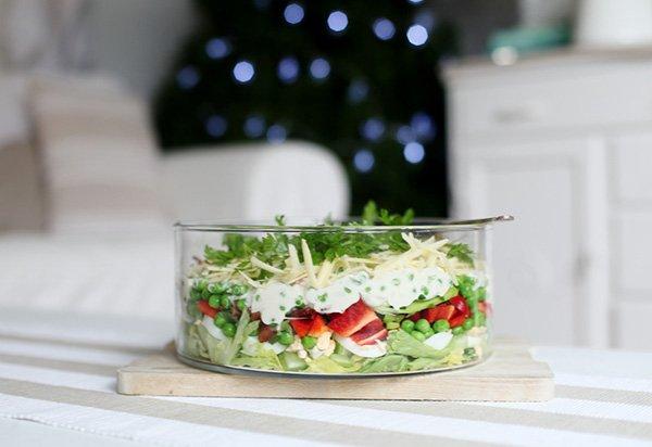 Салаты простые вкусные на новый год