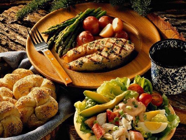 Горячее блюдо из семги на праздничный стол