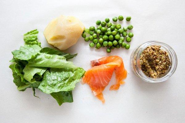 рецепты салатов с фото из зеленого горошка