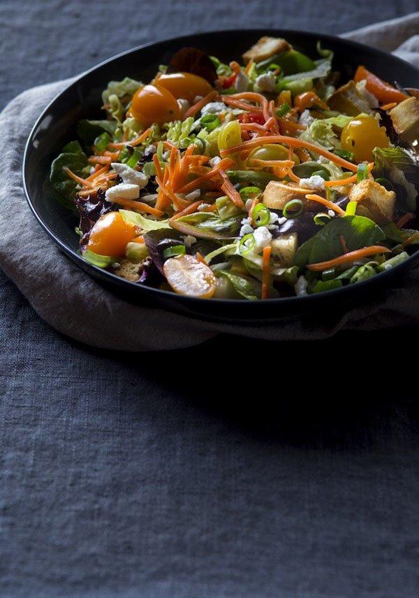 рецепты из листьев салата с фото простые и вкусные
