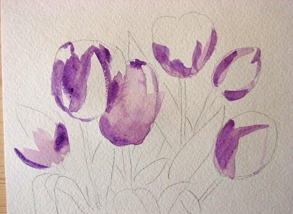 Нарисовать цветы своими руками фото