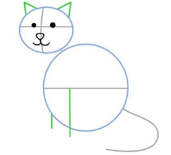 Как нарисовать простой рисунок для мамы