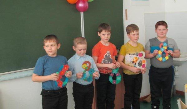 Шуточное поздравление мальчиков с 8марта для классов