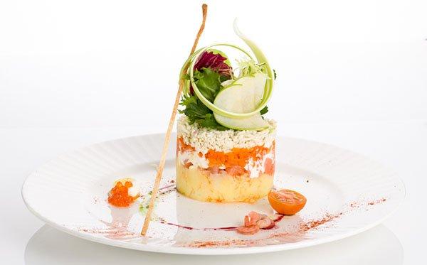 рецепт салата мимоза с сардиной и рисом