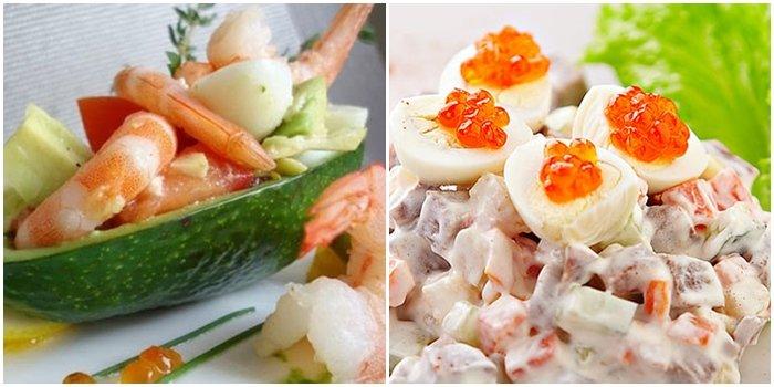 вкусные рецепты салатов без курицы