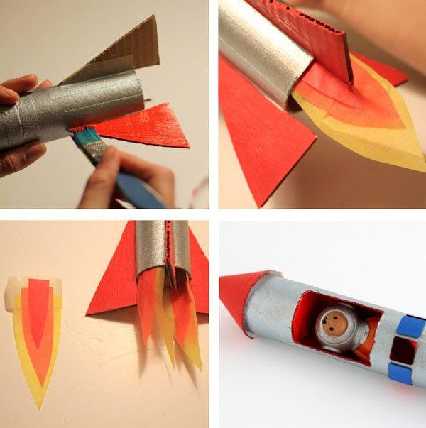 Как сделать свою ракету только из бумаги 337