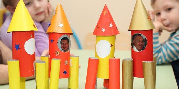 Как сделать ракету. Лучшие идеи и фото 324