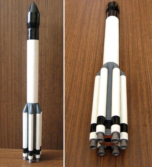 Как сделать ракету в домашних условиях своими руками 949