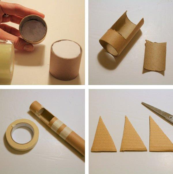 Как сделать картонную трубку своими руками 57