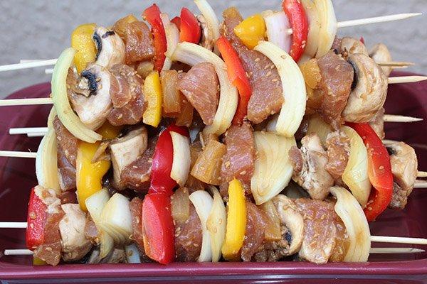 Шашлык из свинины маринад с уксусом самый вкусный пошагово с