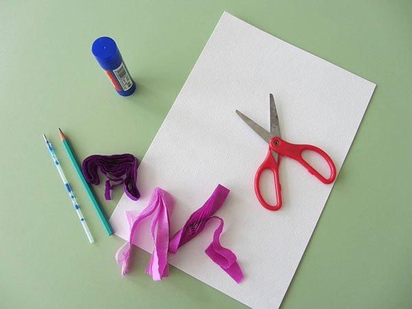 Открытка с ребенком своими руками из бумаги пошаговое фото
