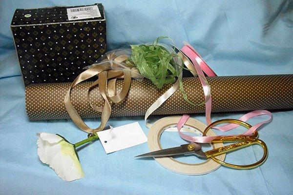 Как упаковать подарок пошаговое 12