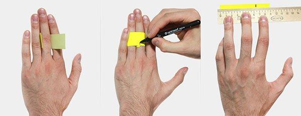 Как узнать размер пальца для кольца: таблица - allWomens 98