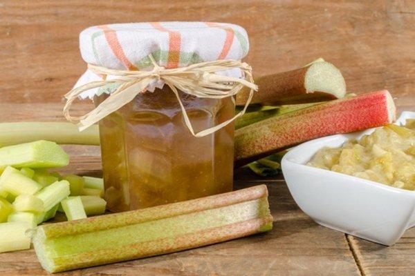 рецепт джем из банан и ревня