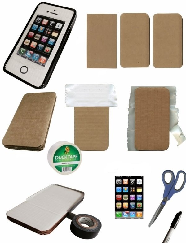 Как сделать айфон 7 из картона своими руками