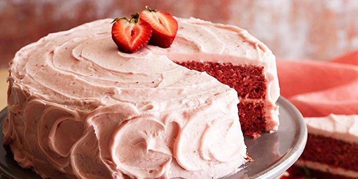 простой рецепт торт из клубники и творога