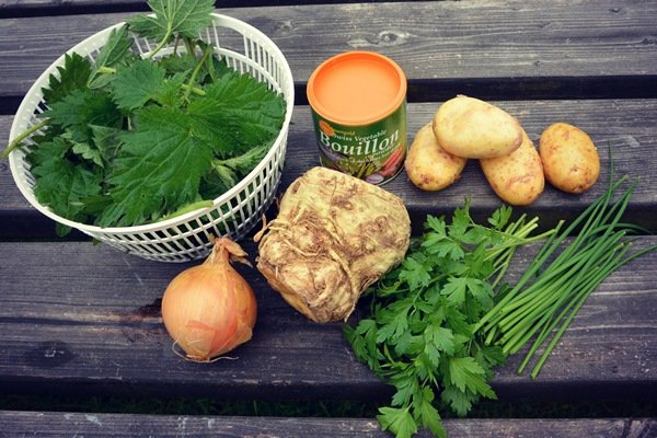 рецепт крапивного супа с щавелем