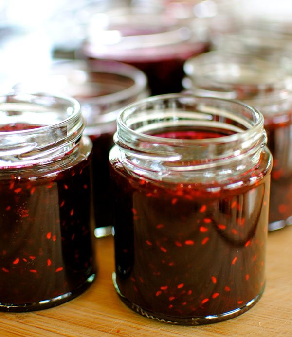 Малиновое варенье рецепт на зиму пятиминутка пошаговый рецепт с фото