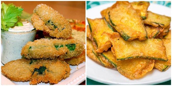 кабачки в кляре рецепты быстро и вкусно в духовке