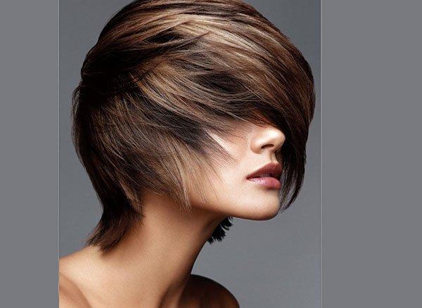 Фото колорирование на короткий волос