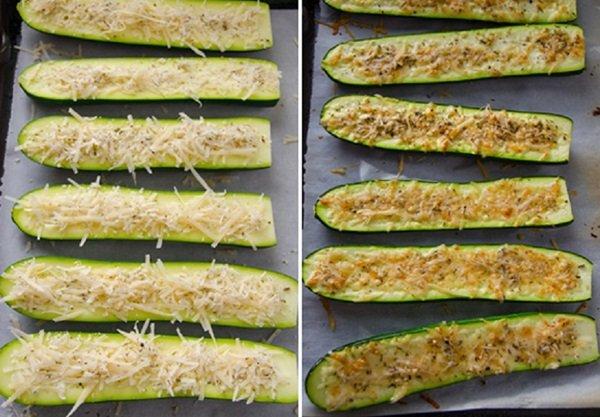 фаршированные кабачки в духовке рецепт вкусно