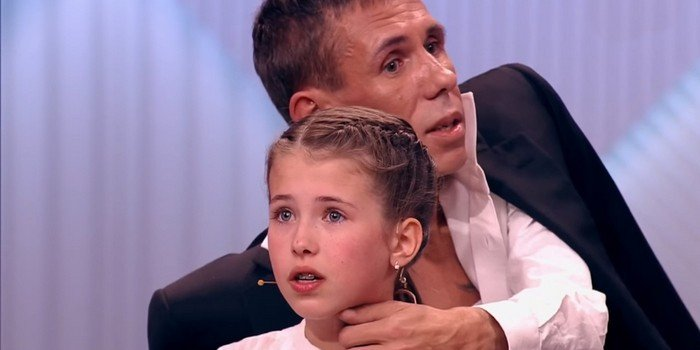 Секси отец и дочь