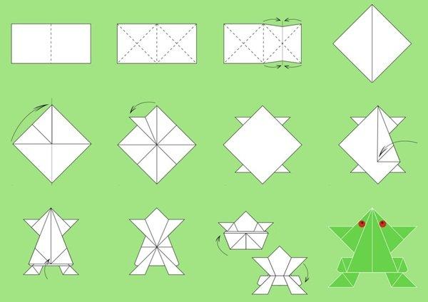 Как из бумаги сделать попрыгунчика в