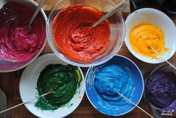 Как сделать тесто цветное