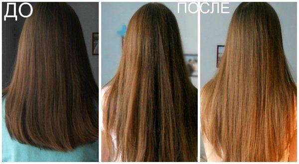 Кефир осветляет волосы