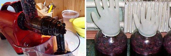 Рецепт вина из черноплодной рябины домашнего приготовления 35