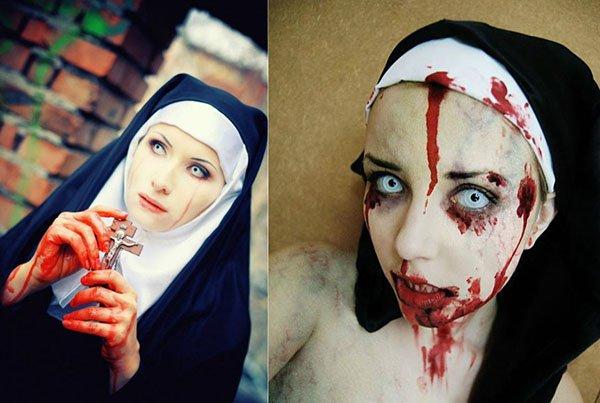 Как сделать себя вампиром на хэллоуин