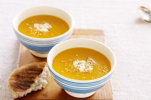 Суп из тыквы рецепты быстро и вкусно пошаговый рецепт