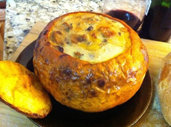 Рецепты фаршированной тыквы в духовке
