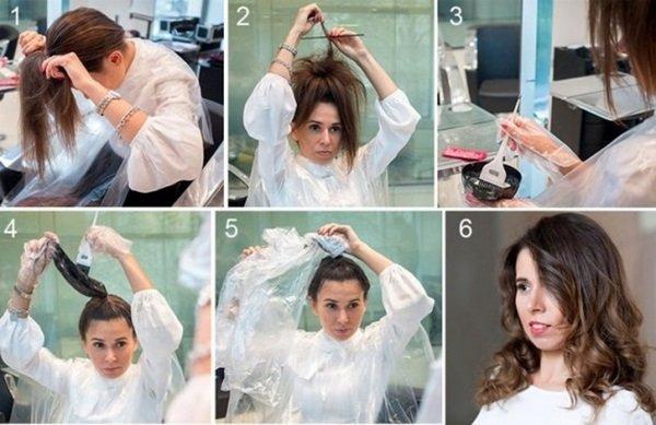 Чем можно смыть окрашенные волосы