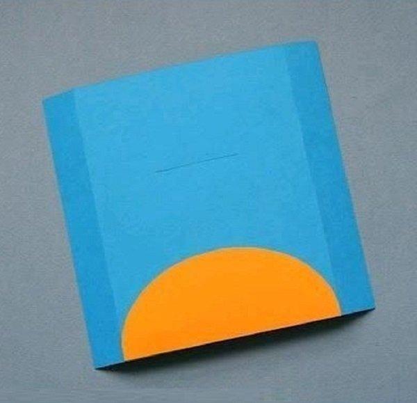 Как самим сделать открытку из картона