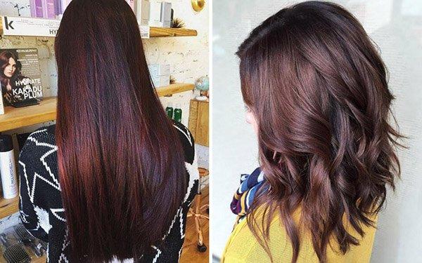 Бургунди – самый красивый цвет волос-2017: какой оттенок предпочтете вы?