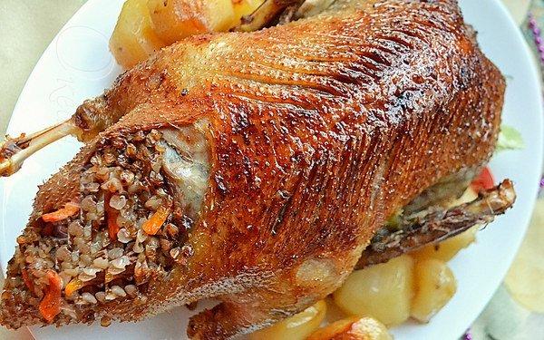 сочная утка в духовке рецепт пошагово