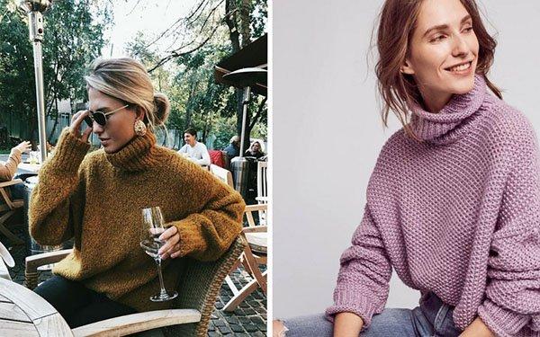 Как носить водолазку и выглядеть современно: лучшие примеры модных образов и тенденций с фото