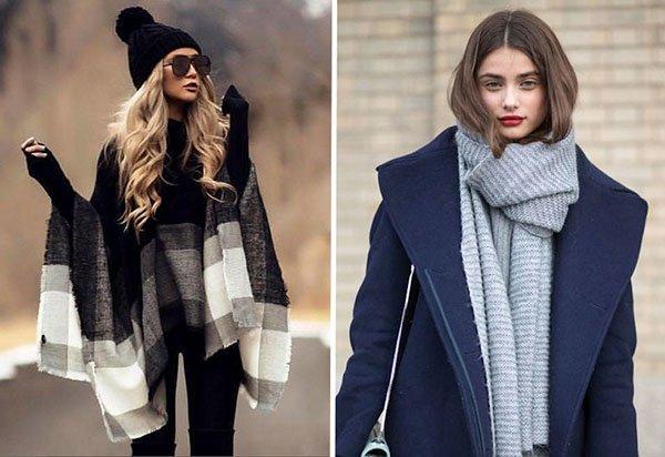 Как стильно завязать шарф в 2018-м: следуйте 3 важным правилам!