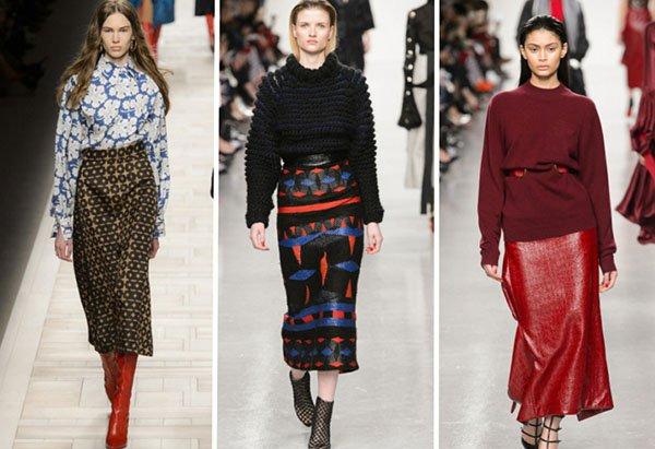 С чем носить юбку зимой: 9 самых эффектных образов