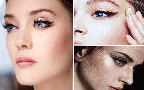 3 варианта новогоднего макияжа со стрелками: выбирайте лучший!