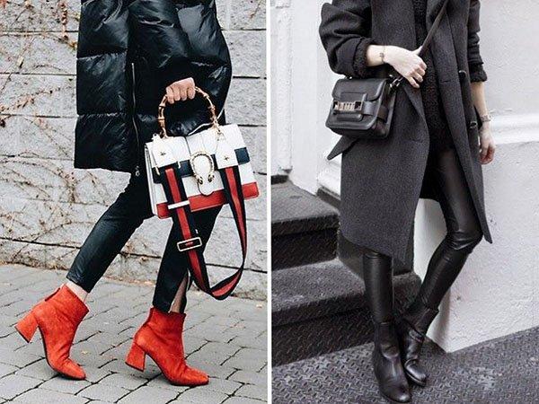 C чем носить ботильоны в 2018-м: стильные образы на каждый день!
