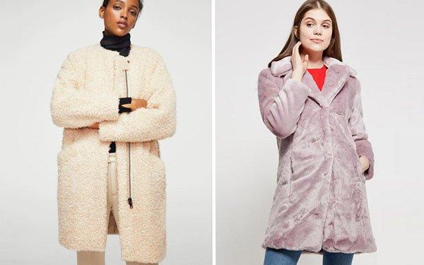 Плюшевое пальто – тренд-2018: как его носить