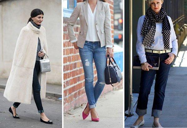 Как носить джинсы после 40: 3 стильных варианта для весны