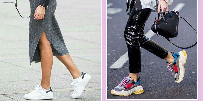 f16f441dcbd2 Модные кроссовки – тренд 2018  где купить и как носить