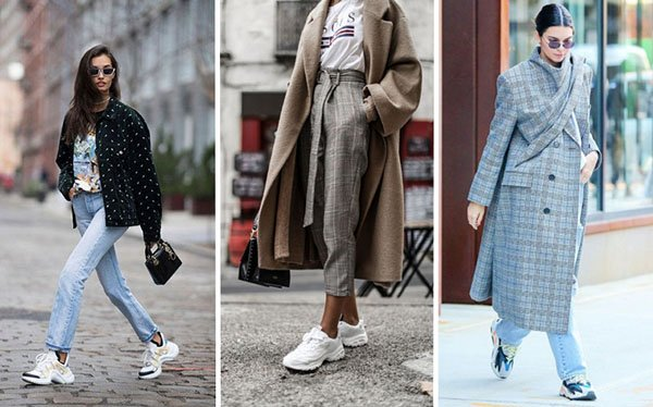 Модные кроссовки – тренд 2018: где купить и как носить