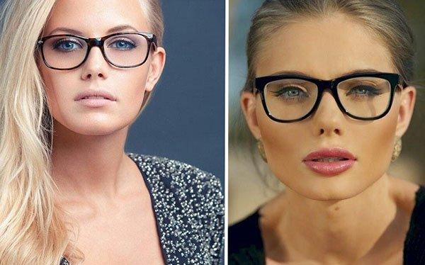 4 секрета макияжа для тех, кто носит очки